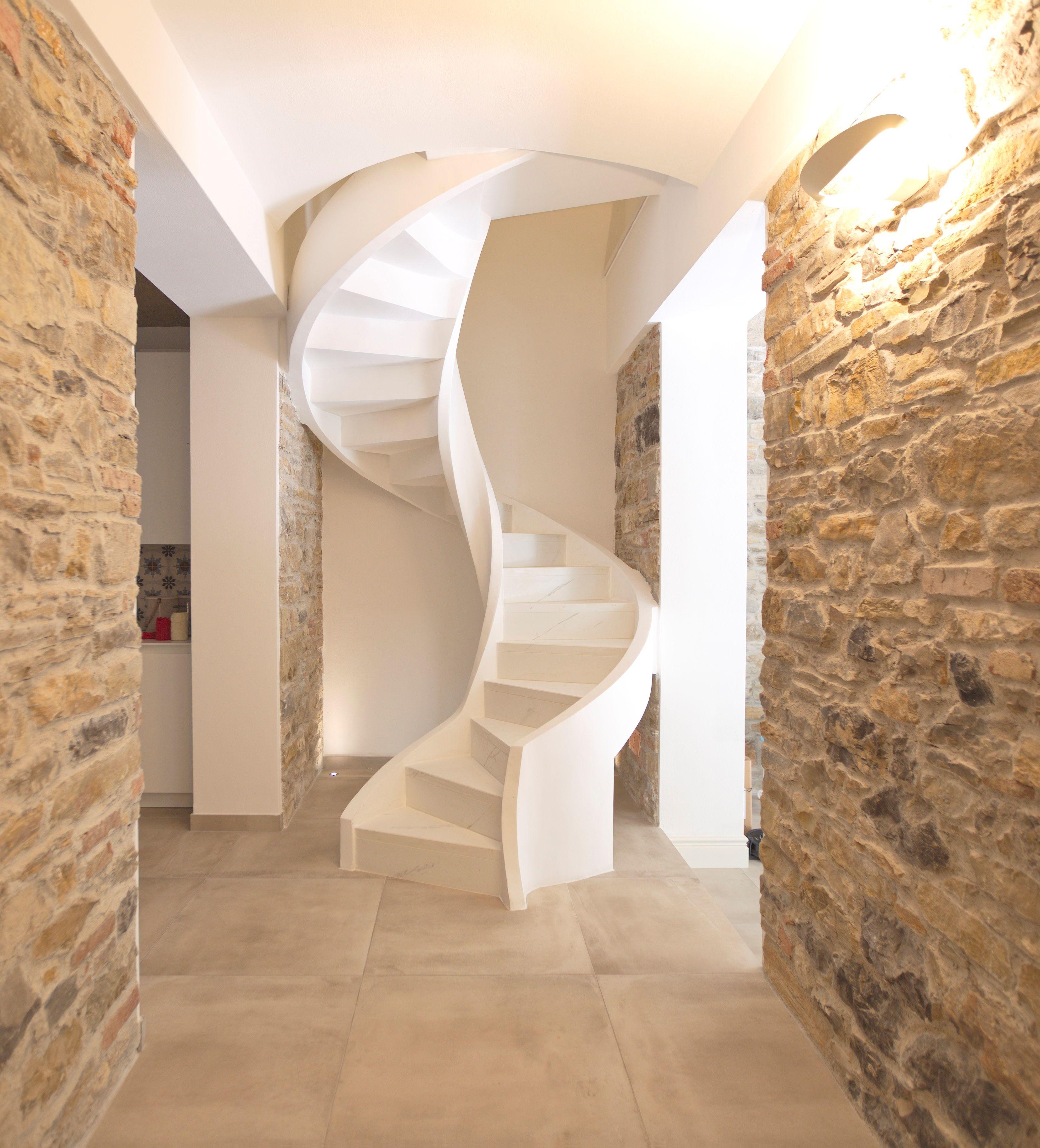 Escalier en colima on en b ton eli ca 13 - Escalier colimacon beton ...