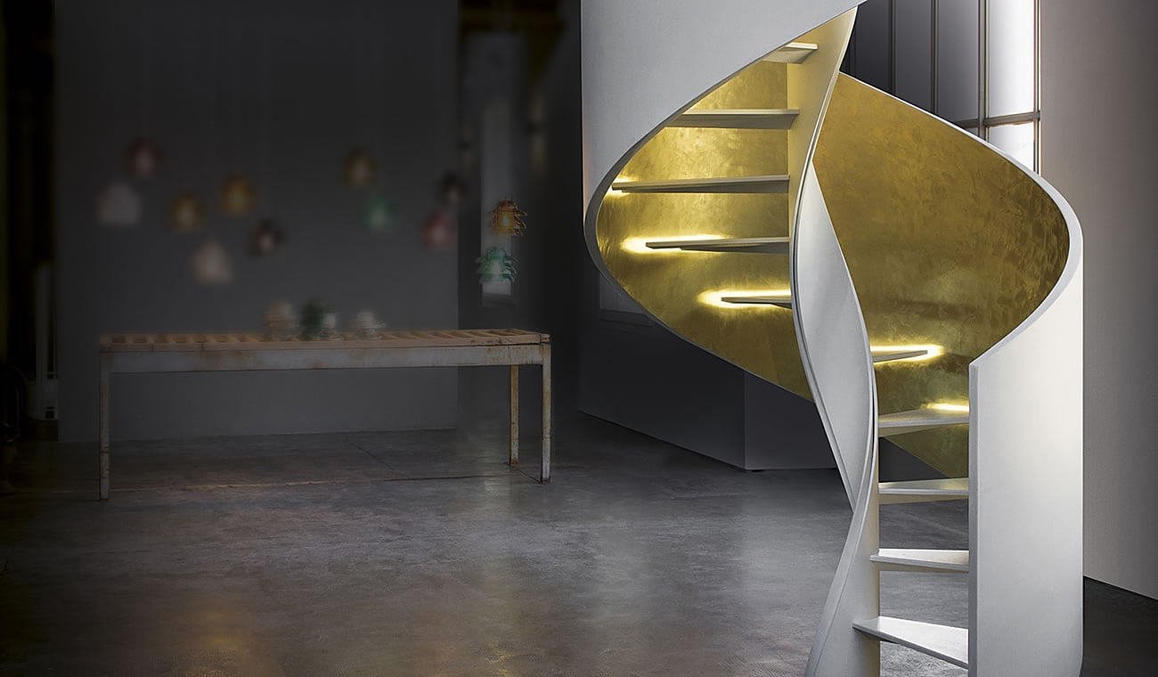 Scale A Chiocciola Moderne professional spiral staircase and innovative helicoidal stairs