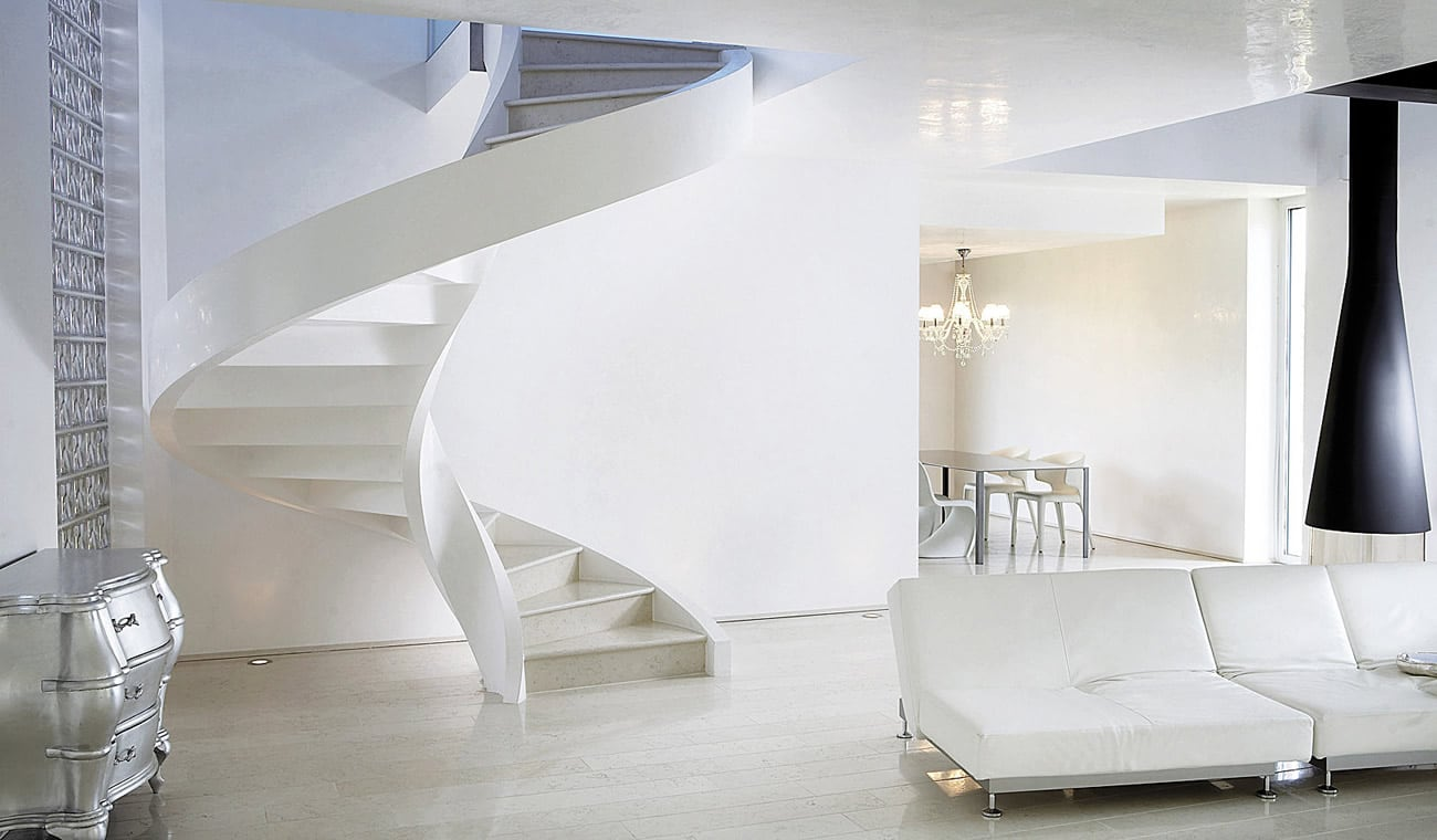 Scale Interne A Chiocciola Moderne.Professional Spiral Staircase And Innovative Helicoidal Stairs
