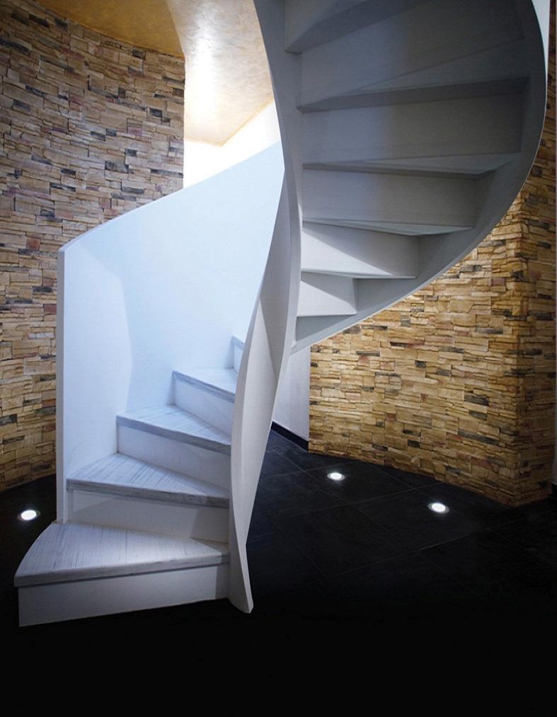 escalier h lico dal tout en bois eli le 09. Black Bedroom Furniture Sets. Home Design Ideas