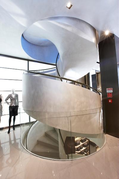 escalier h lico dal pr fabriqu en b ton eli ca 07. Black Bedroom Furniture Sets. Home Design Ideas