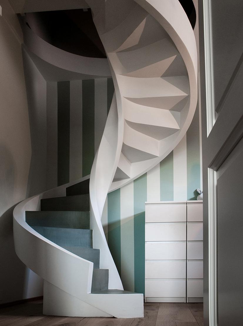 helicoidal stair concrete eli ca 07