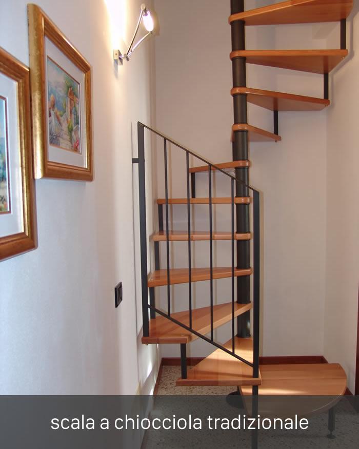 Scale a chiocciola dimensioni idee di design per la casa for Casa scala a chiocciola