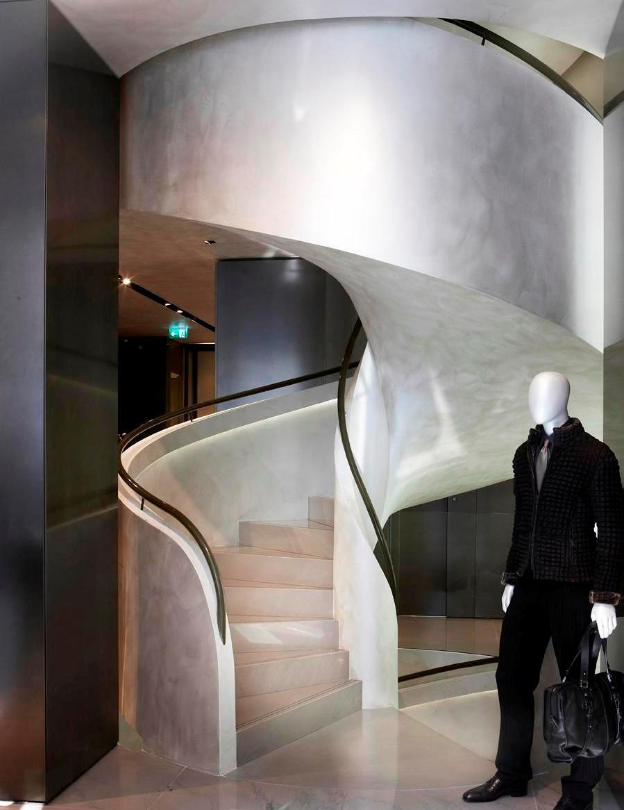 Spiral Staircase Prefabricated Concrete Eli Ca 11
